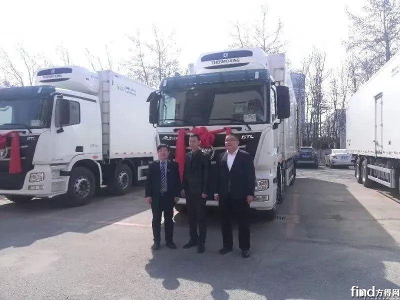 批量欧曼冷藏中置轴货车交客户 (3)