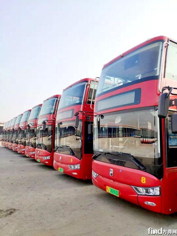 10辆亚星电动双层巴士沧州投运 (2)