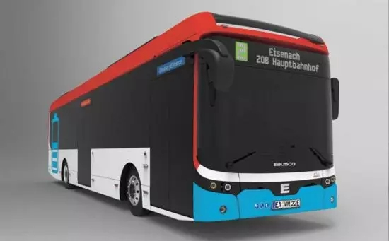 EBUSCO纯电动客车将在德国投运