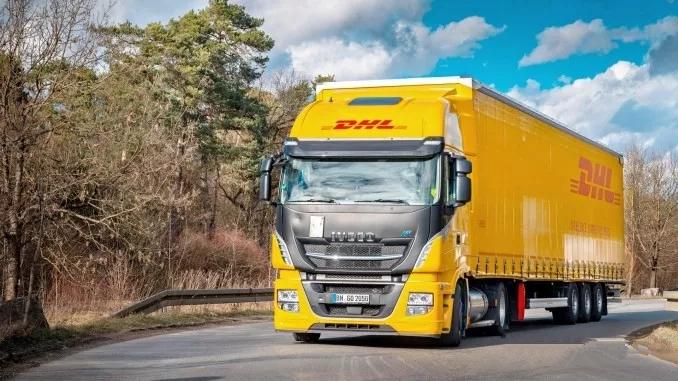 欧洲天然气卡车领跑者 DHL在德国开始试用依维柯卡车