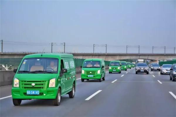 首批超2万辆纯电动物流车将拿到运营补贴