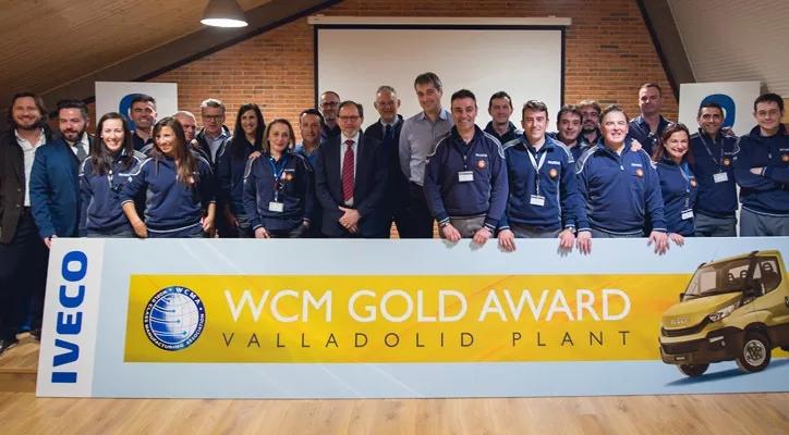 依维柯巴利亚多利德工厂获得了世界级制造(WCM)金级认证