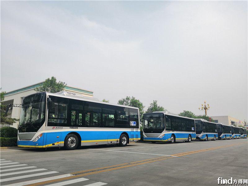 140辆中通电动客车交北京公交