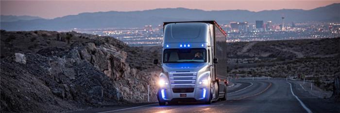 戴姆勒希望10年内让L4卡车上路