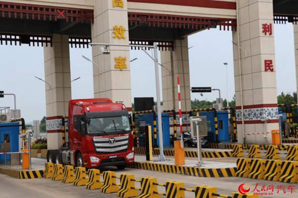 重卡货车安装ETC解行业痛点 加速智慧交通建设