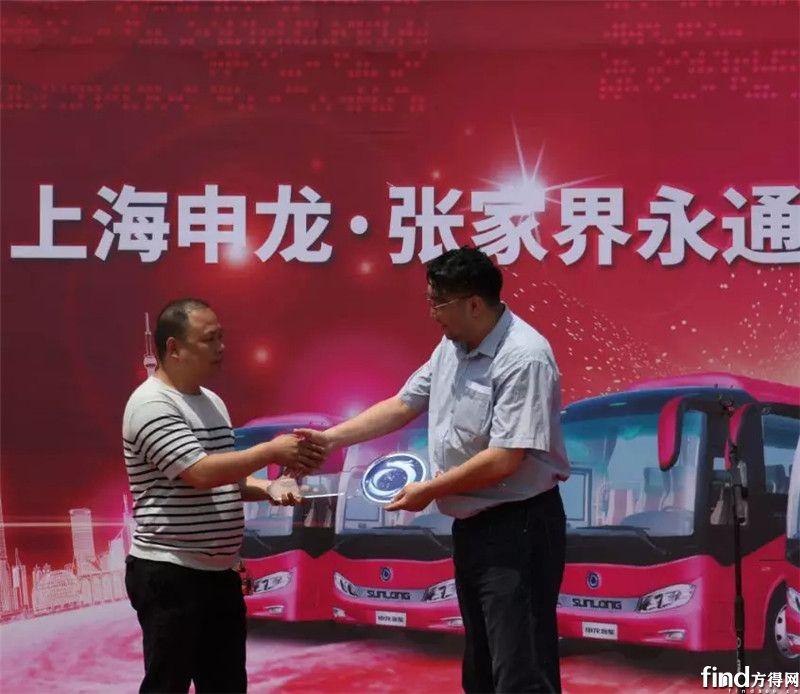 51辆申龙旅游车批量交付永通旅运