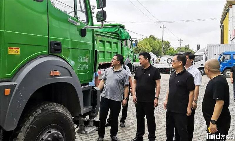 北奔董事长范志平调研浙沪市场