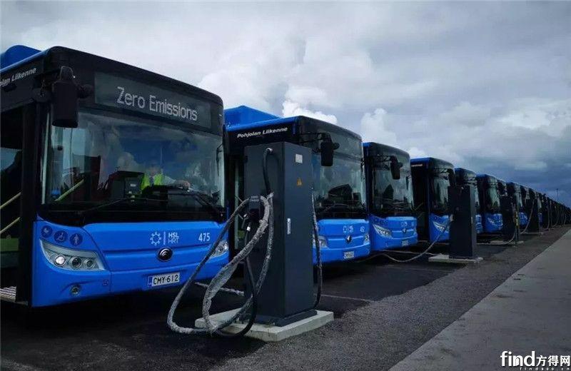 33辆宇通纯电动大巴进入芬兰
