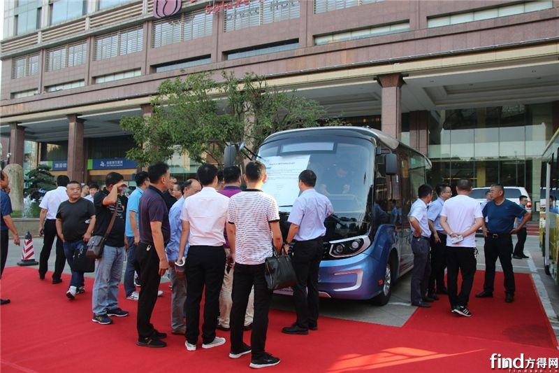 2019金旅客车新能源产品全国巡演武汉首发4