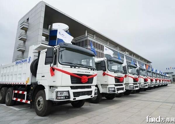 16000辆 陕汽重卡再次批量出口