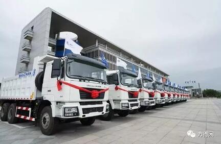 1.6万辆 陕汽重卡再次批量出口