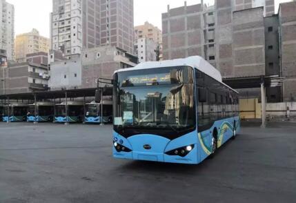 亚历山大将成为埃及第一个采用纯电动大巴的城市
