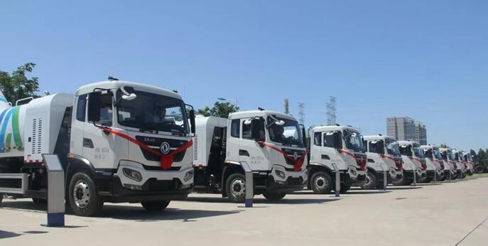 117辆东风国六环卫车将交付客户