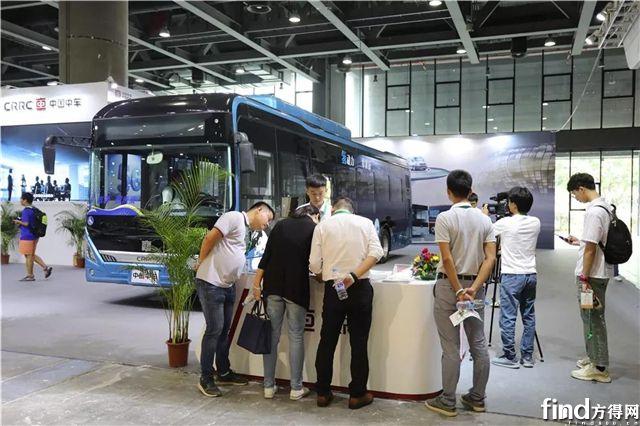中车电动亮相广州新能源智能车展2