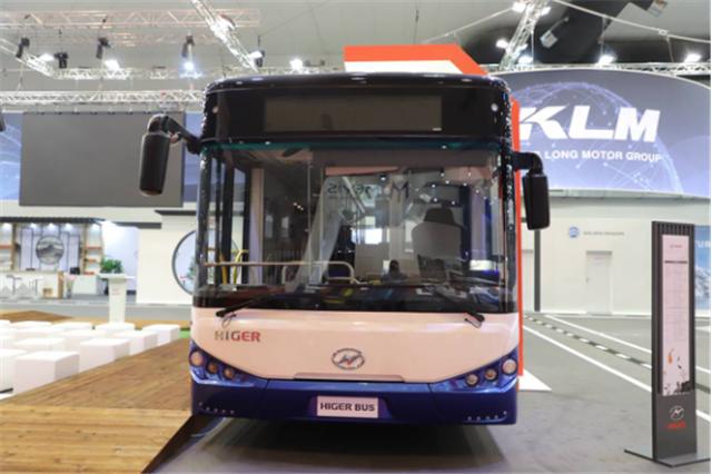 为中国智造代言 苏州金龙海格客车亮相比利时世界客车博览会434