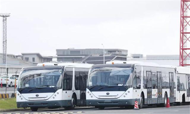 23辆宇通机场摆渡车交付摩洛哥