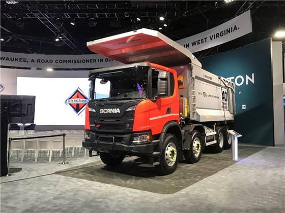 斯堪尼亚和纳威司达携手合作,为加拿大采矿业提供车辆和服务