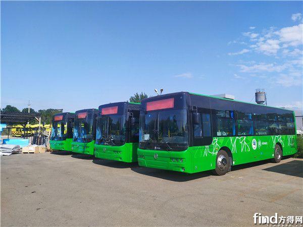 2 此前出口哈萨克斯坦的金旅客车