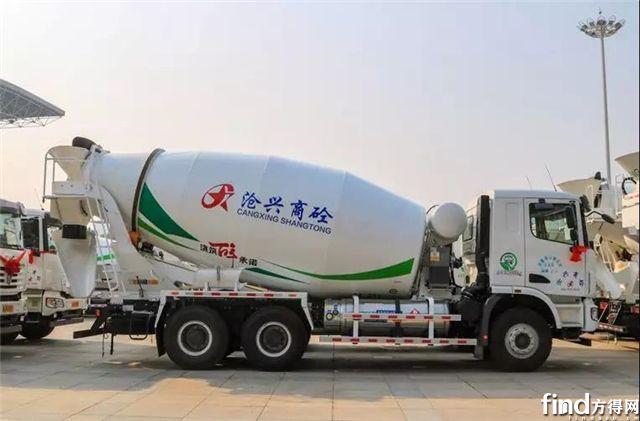 河北沧兴控股引入第一批LNG搅拌车,为何选择了中集联合卡车?3