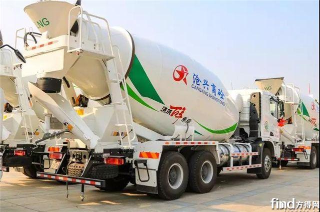河北沧兴控股引入第一批LNG搅拌车,为何选择了中集联合卡车?5