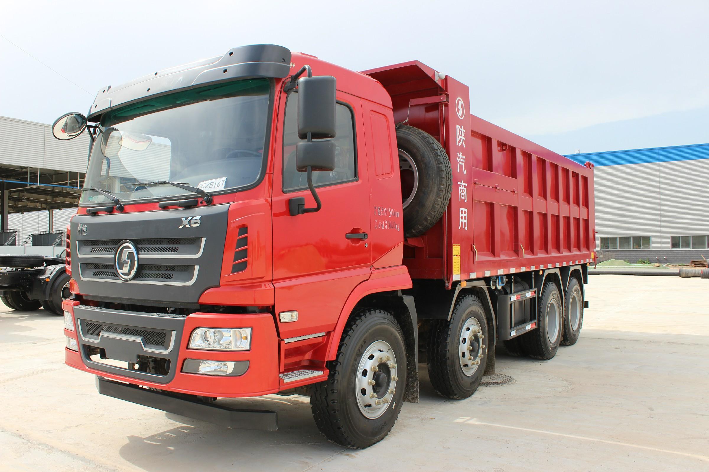 陕汽轩德X6 8×4自卸车