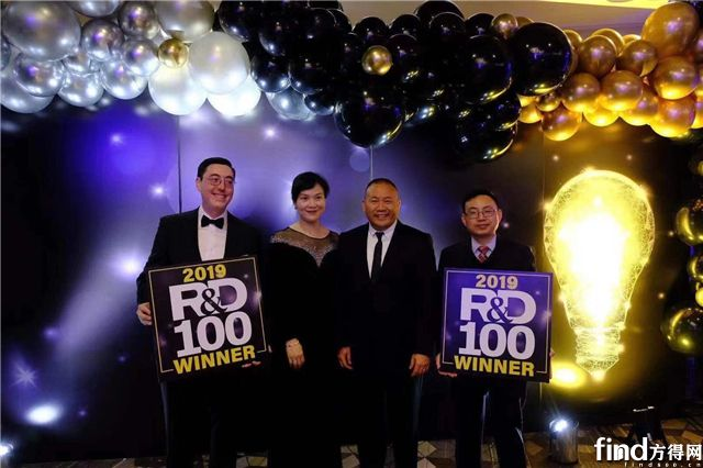 """微宏荣获""""R&D100 Award""""研发创新大奖"""