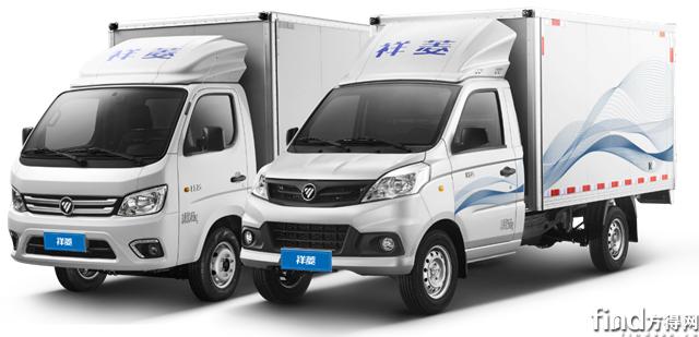 福田祥菱荣获2019年度城市物流车型1