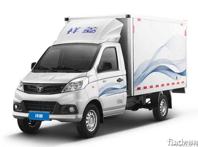 福田祥菱荣获2019年度城市物流车型2