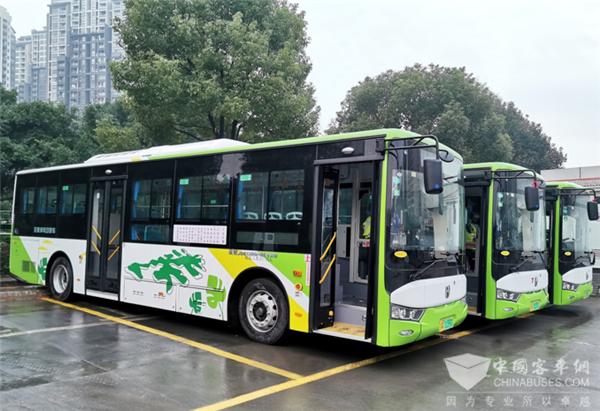 亚星再助绿色交通 重庆长寿区首批新能源公交车上线