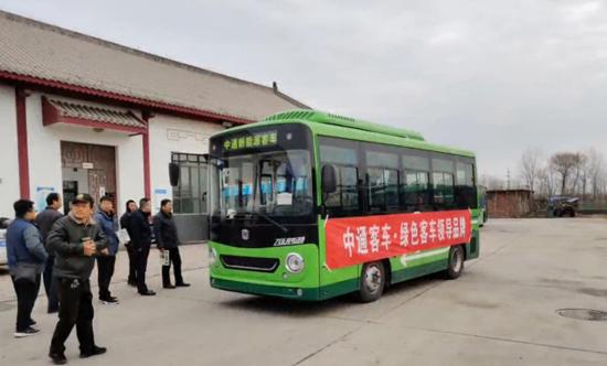 中通风灵纯电动客车助力适应城乡客运新常态