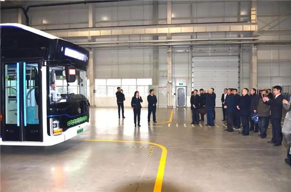 陕西首台氢燃料电池客车成功下线