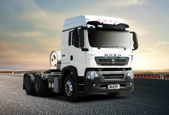 豪沃TX国六燃气车气耗28-32公斤,可靠,不误工!