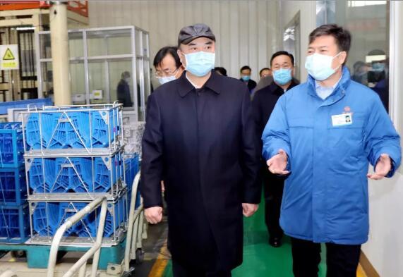 陕西省长刘国中到法士特调研疫情防控和复工复产情况