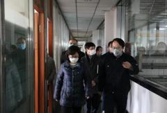 上海闵行区委常委、统战部部长李红珍一行到访申龙 调研企业复工复产工作