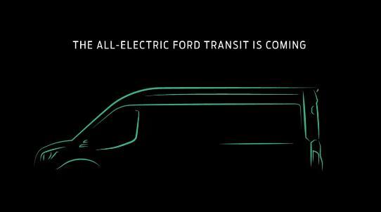 福特汽车纯电动全顺在美国发布