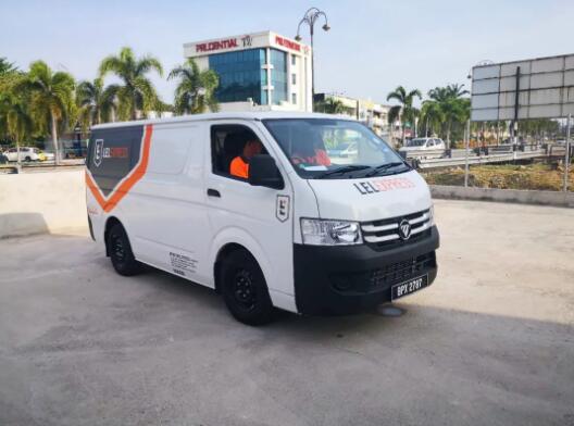 170份订单!福田汽车携东南亚最大电商LAZADA,助推马来电商物流发展
