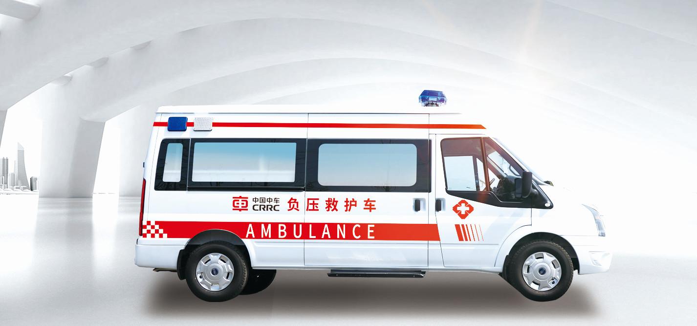 仅用25天 中车电动造首台负压式救护车下线