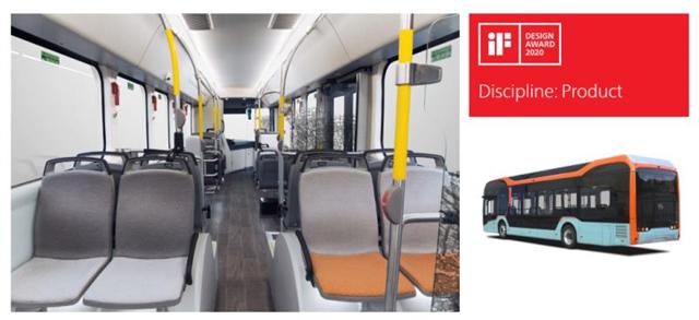 打造交通领域艺术美学产品 比亚迪纯电动巴士获国际设计大奖