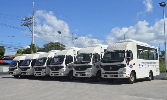 福田汽车向菲律宾客户交付26台全新吉普尼