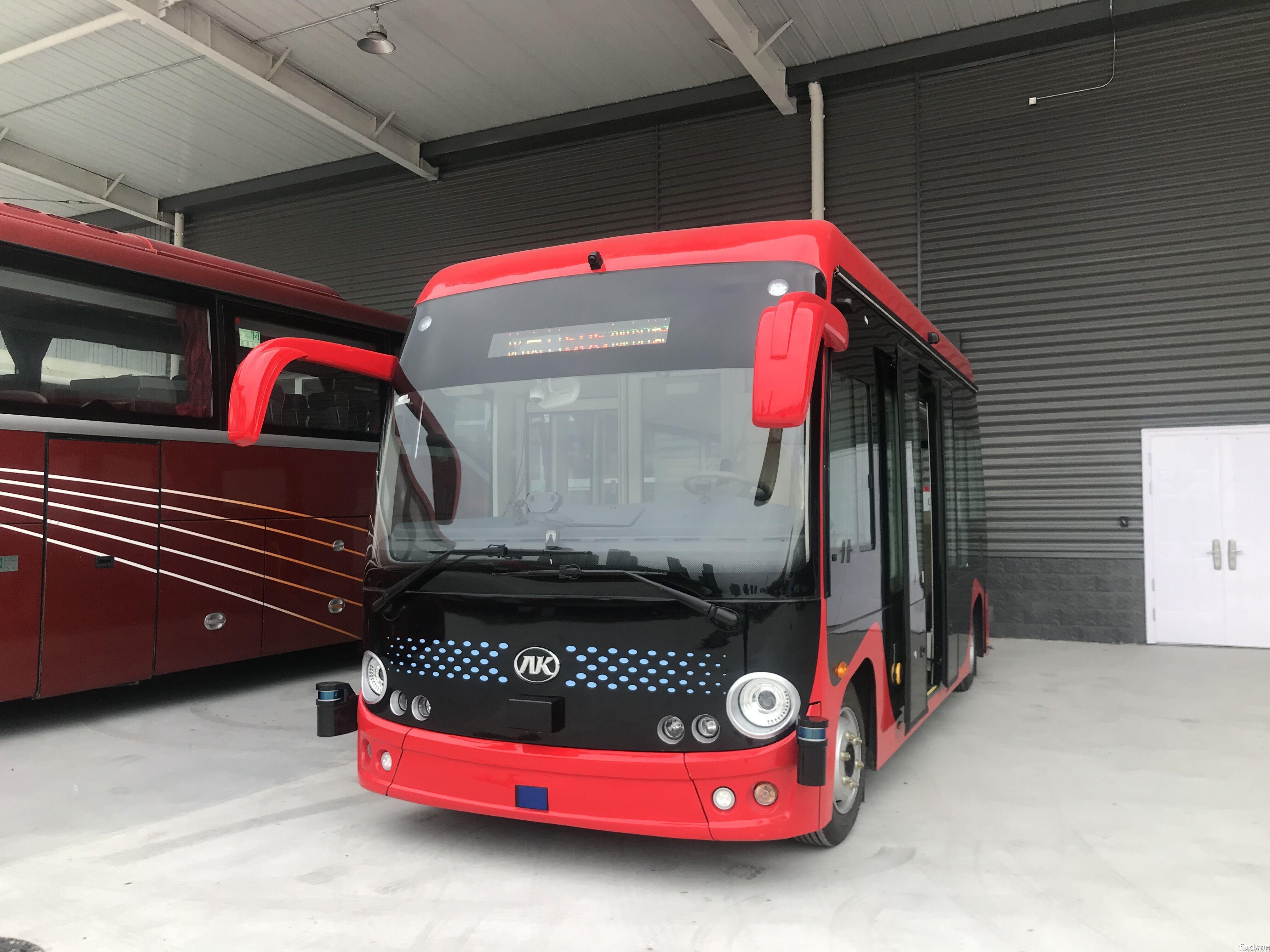 安凯无人驾驶客车将成为首批运营车辆