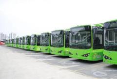 近百辆比亚迪新能源公交车柳州上线  近日将投入运营