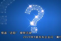 """恒通""""还阳"""" 银隆沉寂 2020年9家万博体育网页版登录企业闪""""黄灯"""""""