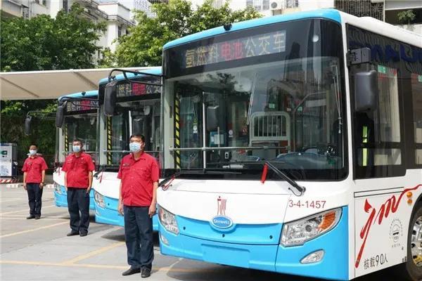 开沃汽车助力广州公交迈入氢能产业新时代