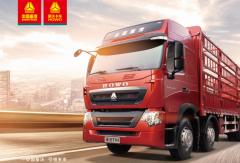 中国重汽T7480马力AMT载货车,让你跑车省心省油又赚钱