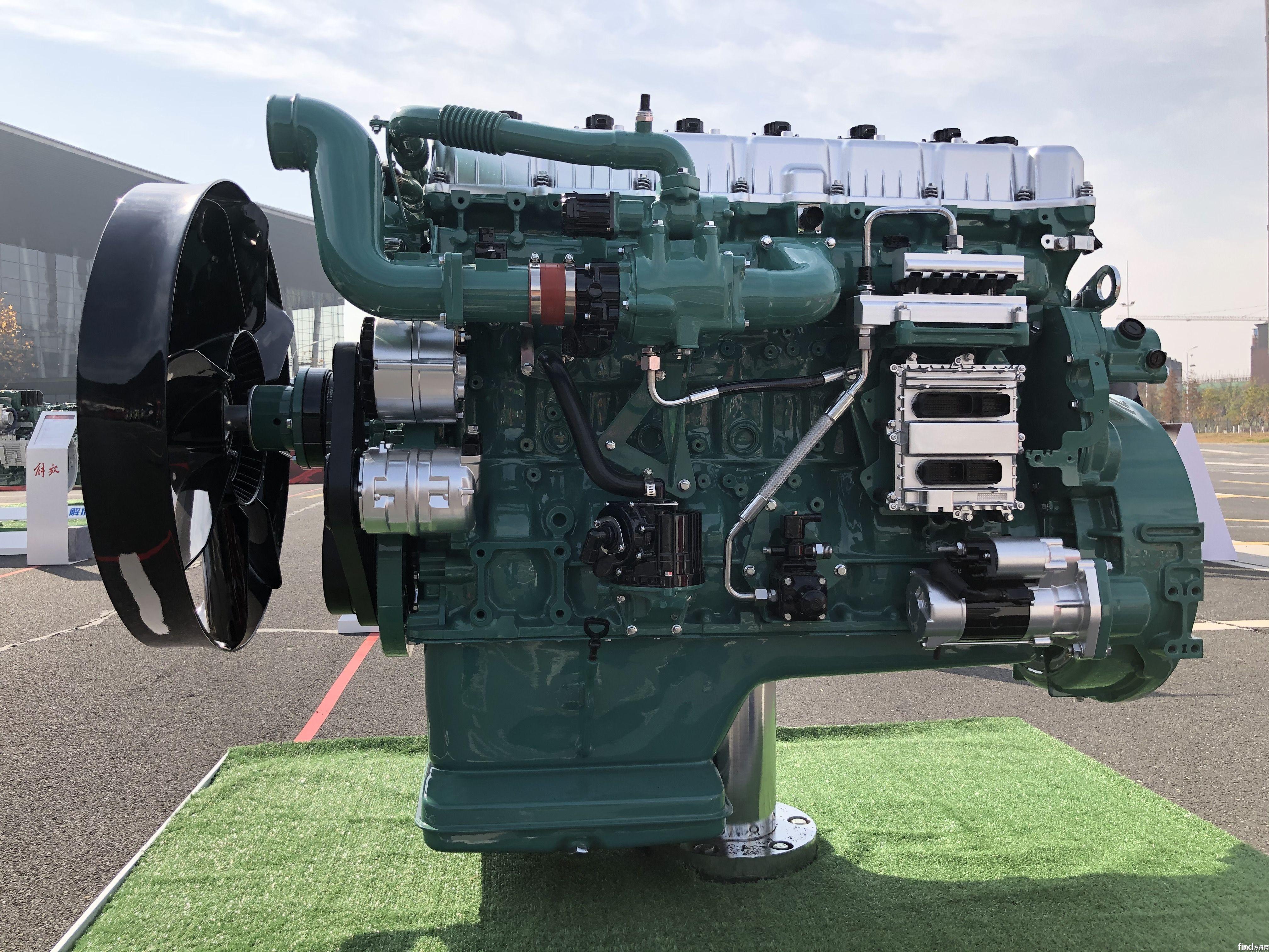 解放动力奥威6SM3国六燃气机 (2)