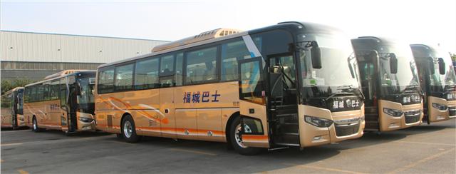 中通纯电动巴士为郴州城乡公交一体化建设打CALL