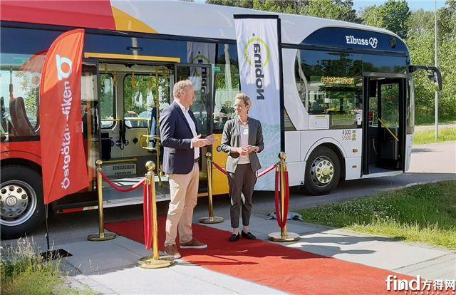 """再交34台!比亚迪纯电动大巴""""加码""""绿色交通 北欧新能源版图连下两城"""