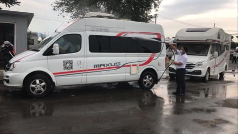 50辆上汽MAXUS房车布点北京49处核酸检测点