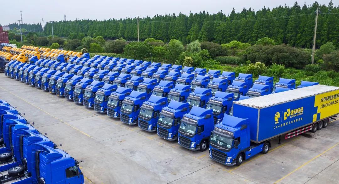 德邦快递3.5亿购450辆沃尔沃卡车,大件运力提升12%,时效提升10%