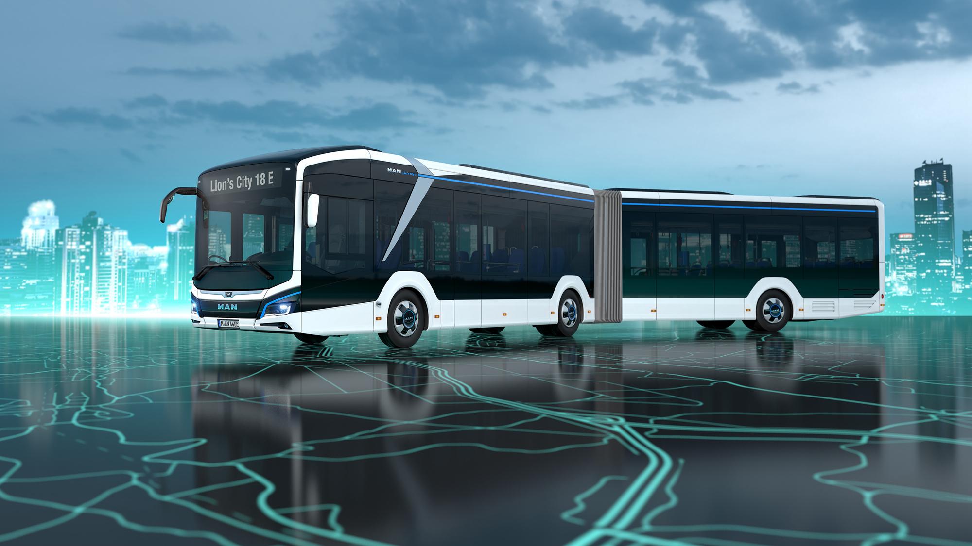 曼恩Lion's City 18E巴士即将进行实测并投入运营